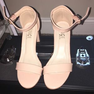 Nude pair of sandals